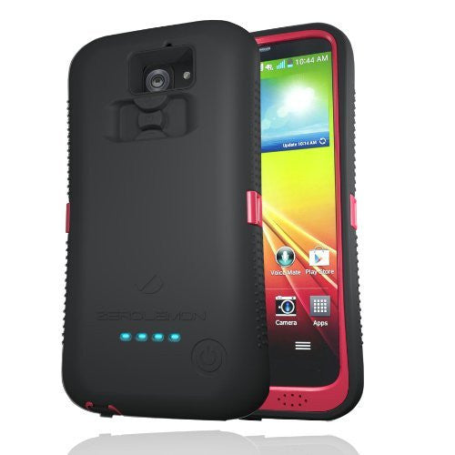 [180 Days Warranty] Zerolemon Black  Red Zeroshock  Case  Zerolemon - BastexShop
