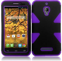 HRWireless  Alcatel One Touch Fierce 7024W Cover Case (Dynamic BlackDark - BastexShop