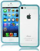 TPU Bumper Case Cover  Apple iPhone 5, 5S 5th Generation - Baby Blue