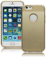 Durable Hybrid Gold Case Gold Silicone Cover  Apple iPhone 6, 4.7 - BastexShop