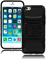"Durable Black Kickstand and Holster Case Cover  iPhone 6, 4.7"" - BastexShop"