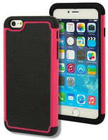 "Hybrid Deluxe Hot Pink Shock Armor Case  iPhone 6 Plus, 5.5"" 6th Generation - BastexShop"