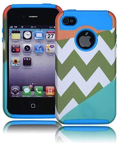 Hybrid Tribal  Chevron Case  Apple iphone 4, 4g, 4s - BastexShop