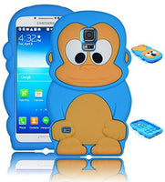 Character Silicone Case  Samsung Galaxy S5 i9600 - Sky Blue & Ta - BastexShop