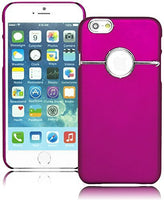 "Snap Together MagentaSilver Design Protective  Case Cover iPhone 6, 4.7"" - BastexShop"