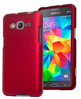 Galaxy Grand Prime,    Red Rubberized Snap On Case Cover - BastexShop