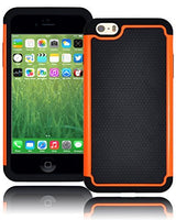 "Hybrid Deluxe Orange Shock Armor Case  iPhone 6, 5.5"" 6th Generation - BastexShop"