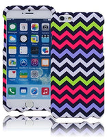 "Snap On Neon Green Purple Pink White  Case  iPhone 6, 4.7"" - BastexShop"