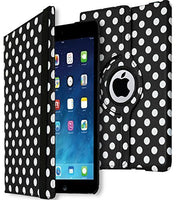 iPad Mini 2 Protective Polka Dot Kickstand Case with Swivel Stand - BastexShop