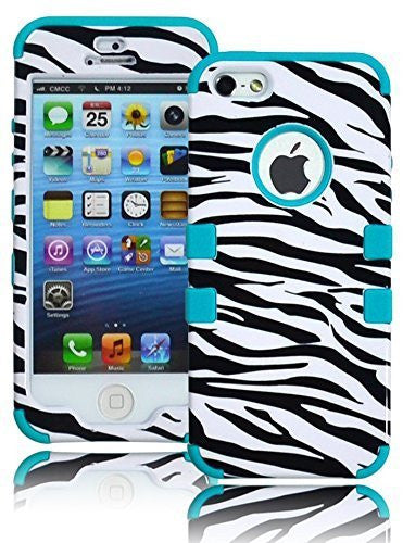Hybrid Case  Apple iPhone 5, 5S, 5G, 5th Generation - Po - BastexShop