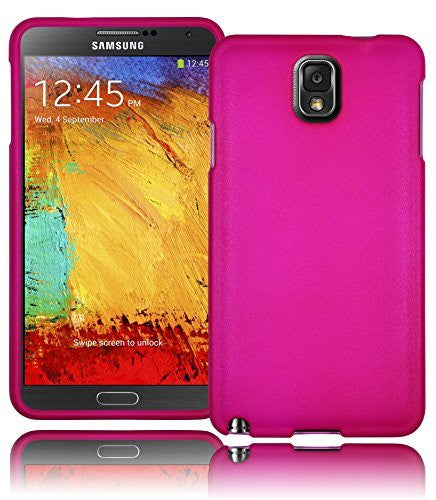 Hybrid Hot Pink  Snap-On Case Cover  Samsung Galaxy Note 3, N9000 - BastexShop