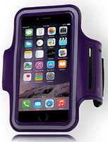 "Runners Sporty Purple Armband with Key Holder  iPhone 6, 4.7"" - BastexShop"