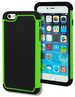 "Hybrid Deluxe Green Shock Armor Case  iPhone 6 Plus, 5.5"" 6th Generation - BastexShop"