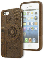 iPhone 5, 5s Case,  Real Natural Bamboo Wood  Phone Case Cover - BastexShop