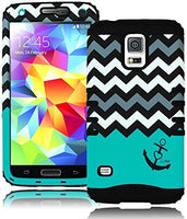 High Impact Hybrid Case  Samsung Galaxy S5 i9600 - Black - BastexShop