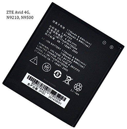 New Cell Phone Replacement Battery  ZTE Avid 4G, N9210, N9500 - BastexShop