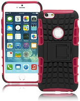 "Pink  Cover with Black  Kick Stand Design  Apple iPhone 6, 4.7"" - BastexShop"