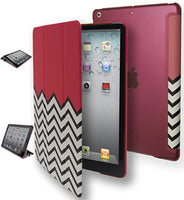 iPad Air, 1st Generation,  Folio Chevron with Color Design Stand Case - BastexShop