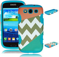Hybrid Orange and Blue Case for Samsung Galaxy S3 - BastexShop
