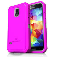 ZeroLemon® Samsung Galaxy S5 Zero Shock Slim Series  Pink  Grey Hybrid - BastexShop