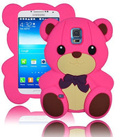 Character Silicone Case  Samsung Galaxy S5 i9600 - Hot Pink Tedd - BastexShop