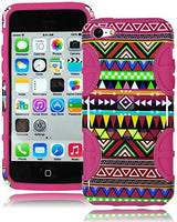 Wireless  High Impact Hybrid Case  Apple iPhone 5c - Hot Pink - BastexShop