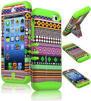 Hybrid Case  Apple iPhone 5c - Light Green Silicone with - BastexShop