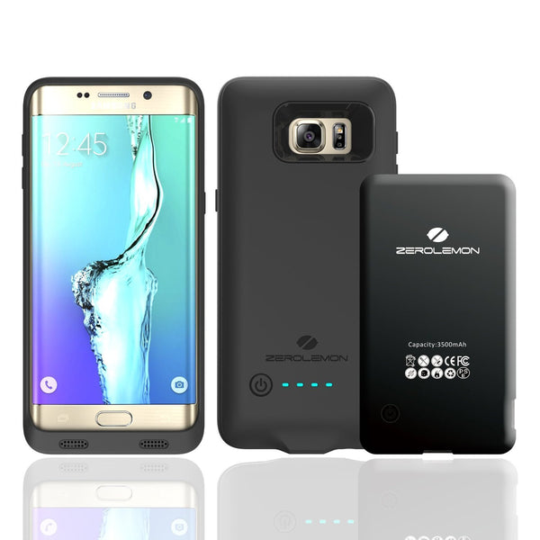 Samsung Galaxy S6 Edge Plus, ZeroLemon 3500mAh Battery Case