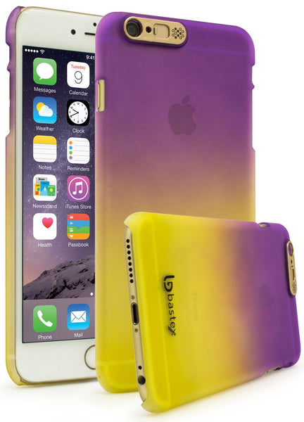 iPhone 6, Fade Purple to Yellow Case with LED Flash Function - BastexShop