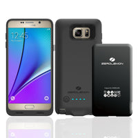 Galaxy Note 5 Battery Case ,ZeroLemon Galaxy Note 5 3500mAh Battery Case+ Black TPU Full Edge Protection Case (Fits All Versions of Galaxy Note 5) - Black - BastexShop