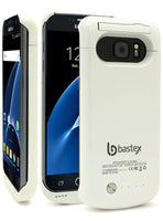 Samsung Galaxy S7, Bastex White 4200mAh Battery Case - BastexShop