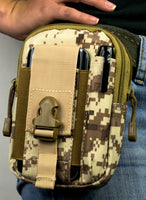 Universal Multi-Purpose Tactical Pouch (Tan Camo) - BastexShop