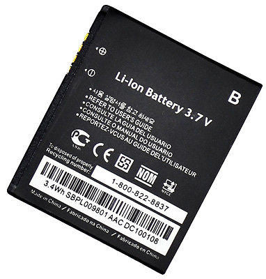 New Cell Phone Battery 1300mah  LG GM310 KV600 GD570 DLITE GS505 SENTIO - BastexShop