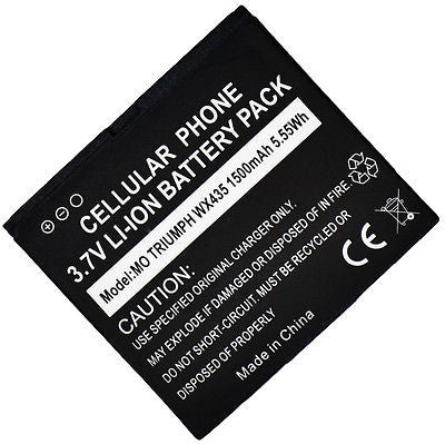 Standard Replacement Battery  WX435 TRIUMPH FBO-2 FB0-2 VIRGIN MOBILE - BastexShop