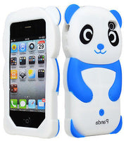Baby Blue and White  Panda  animal Case Cover  iPhone 4, 4S - BastexShop
