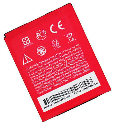 Replacement Battery 1230mah  HTC Droid Incredible HD, Thunderbolt 2, Rezound - BastexShop