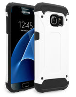 Samsung Galaxy S7 Hybrid Slim Fit Black & White Case - BastexShop