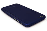 "iPhone 6, 4.7"" Navy Blue Full Body case With Tempered Glass Screen Protector - BastexShop"