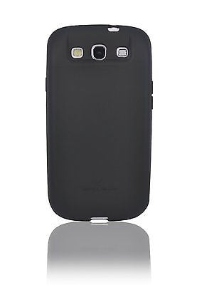 ZeroLemon Samsung Galaxy S3 III Black Extended TPU Full Edge Case - BastexShop