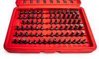100pc Universal Security, Torx Star, Hex Key and Screwdriver Bit Set - BastexShop