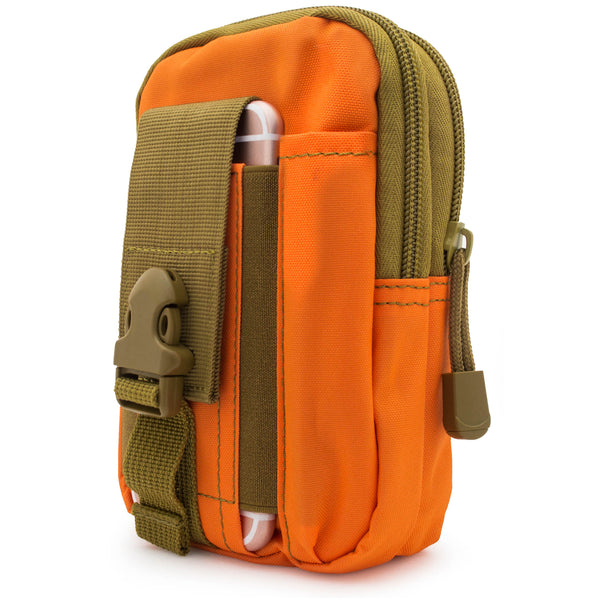 Universal Multi-Purpose Tactical Pouch (Army Orange & Tan) - BastexShop