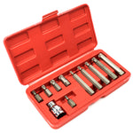 11pc Point Spline Bit Set - BastexShop