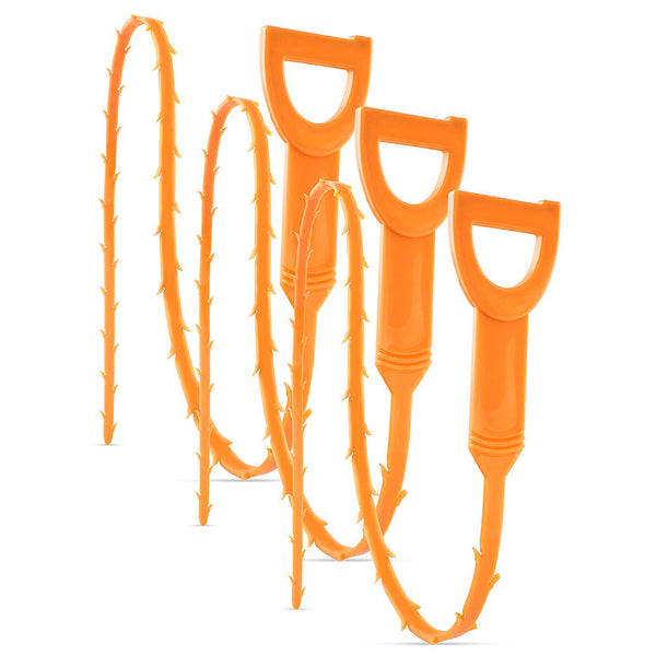 3pc Drain Snake Clog and Hair Remover Set - BastexShop
