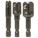 3pc Hex Shank Adapter Set - BastexShop