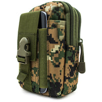 Universal Multi-Purpose Tactical Pouch (Green Camo)