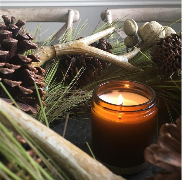 Orange Clove Candle - Lightly Scented Nontoxic Soy Candle