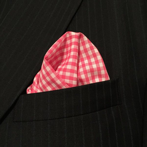 Pink Cotton Gingham