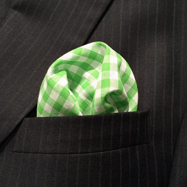 Green Cotton Gingham