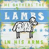 Gather The Lambs-Blue / Psalm 40:11