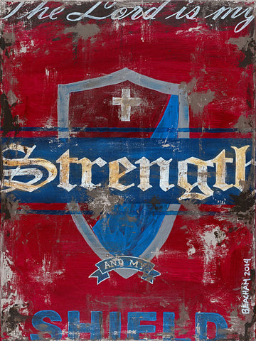 Strength-Red / Jeremiah 28:7